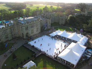 Christmas Ice Rink Installation