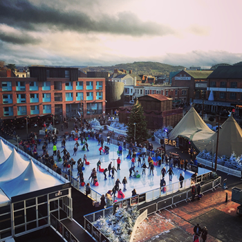 Christmas Ice Rink at Gloucester Quays